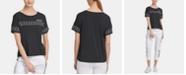 DKNY Sport Logo-Tape T-Shirt