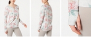 Ideology Printed Keyhole Top, Created for Macy's
