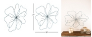 Rosemary Lane Eclectic Floral Metal Wall Decor