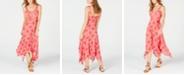American Rag Juniors' Printed Asymmetrical-Hem Dress, Created for Macy's