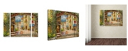 "Trademark Global Rio 'Capri Isle' Multi Panel Art Set Large - 41"" x 30"" x 2"""
