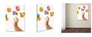 "Trademark Global The Macneil Studio 'Baby Mobile' Canvas Art - 32"" x 24"" x 2"""