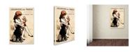 """Trademark Global Vintage Lavoie 'Ads-0065' Canvas Art - 24"""" x 16"""" x 2"""""""