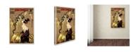 """Trademark Global Vintage Lavoie 'Ads-0082' Canvas Art - 19"""" x 12"""" x 2"""""""