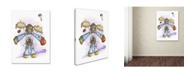 "Trademark Global Michelle Campbell 'Little Angels' Canvas Art - 47"" x 35"" x 2"""