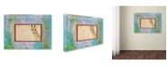 """Trademark Global Tammy Kushnir 'G is For Giraffe' Canvas Art - 19"""" x 14"""" x 2"""""""