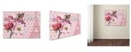 "Trademark Global Tina Lavoie 'Paris Magnolias I' Canvas Art - 19"" x 14"" x 2"""