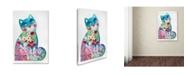 "Trademark Global Oxana Ziaka '1 Magic Cat' Canvas Art - 19"" x 12"" x 2"""