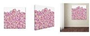 "Trademark Global Miguel Balbas 'Happy People 3' Canvas Art - 24"" x 24"" x 2"""