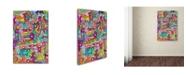 "Trademark Global Miguel Balbas 'Life 3' Canvas Art - 32"" x 22"" x 2"""