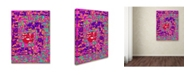 """Trademark Global Miguel Balbas 'Colorful Shapes 3' Canvas Art - 19"""" x 14"""" x 2"""""""