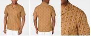 Tasso Elba Men's Medallion-Print Camp Collar Silk Shirt, Created for Macy's