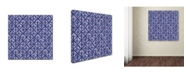 "Trademark Global Yachal Design 'Dancing Petals 400' Canvas Art - 24"" x 24"" x 2"""