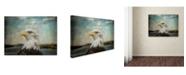 "Trademark Global Jai Johnson 'The Overseer' Canvas Art - 32"" x 24"" x 2"""