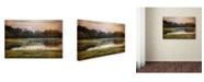 "Trademark Global Jai Johnson 'Third November Day' Canvas Art - 19"" x 12"" x 2"""