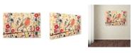 """Trademark Global Sylvie Demers 'Je Ne Suis Pas Qu'un Oiseau' Canvas Art - 47"""" x 30"""" x 2"""""""