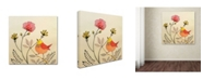 "Trademark Global Sylvie Demers 'La Vie Est Belle' Canvas Art - 18"" x 18"" x 2"""