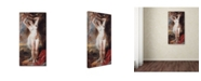 "Trademark Global Rubens 'Perseus Freeing Andromeda' Canvas Art - 47"" x 24"" x 2"""