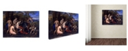 "Trademark Global Nicolas Poussin 'Mars And Venus' Canvas Art - 24"" x 18"" x 2"""