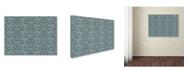 "Trademark Global Jean Plout 'Christmas Glitter 3' Canvas Art - 24"" x 18"" x 2"""