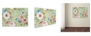"Trademark Global Jean Plout 'Botanical Beauty 5' Canvas Art - 47"" x 35"" x 2"""