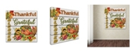 "Trademark Global Jean Plout 'Thanksgiving 5' Canvas Art - 18"" x 18"" x 2"""