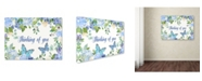 "Trademark Global Jean Plout 'Envelope 3' Canvas Art - 47"" x 35"" x 2"""