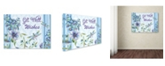 "Trademark Global Jean Plout 'Envelope 6' Canvas Art - 24"" x 18"" x 2"""
