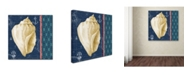 "Trademark Global Jean Plout 'Nautical Blues 1' Canvas Art - 24"" x 24"" x 2"""