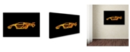 "Trademark Innovations Octavian Mielu 'Lamborghini Countach' Canvas Art - 19"" x 12"" x 2"""