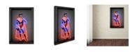 "Trademark Innovations Octavian Mielu 'David' Canvas Art - 47"" x 30"" x 2"""