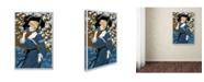 "Trademark Global Vintage Lavoie 'Fashion Women 23' Canvas Art - 24"" x 16"" x 2"""