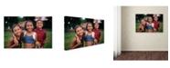 "Trademark Global Robert Harding Picture Library 'Children 1' Canvas Art - 47"" x 30"" x 2"""