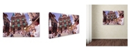 """Trademark Global Robert Harding Picture Library 'Stone Building 5' Canvas Art - 24"""" x 16"""" x 2"""""""