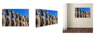 """Trademark Global Robert Harding Picture Library 'Statues 7' Canvas Art - 47"""" x 30"""" x 2"""""""