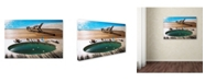 "Trademark Global Robert Harding Picture Library 'Beachy 16' Canvas Art - 19"" x 12"" x 2"""
