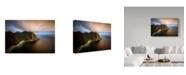 "Trademark Global Wojciech Kruczynski 'Kvalvika' Canvas Art - 24"" x 2"" x 16"""