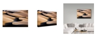 "Trademark Global Mohammadreza Momeni 'Music Dunes' Canvas Art - 32"" x 2"" x 22"""