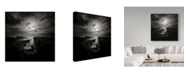 "Trademark Global Yucel Basoglu 'Overcast Coast' Canvas Art - 14"" x 2"" x 14"""