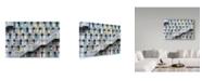 "Trademark Global Tetsuya Hashimoto 'Colorful Apartment' Canvas Art - 32"" x 2"" x 22"""