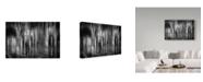 """Trademark Global Roswitha Schleicher 'The Newspaper Reader' Canvas Art - 47"""" x 2"""" x 30"""""""