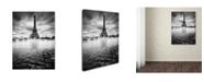 "Trademark Global Moises Levy 'Eiffel Tower Study I' Canvas Art - 22"" x 32"" x 2"""
