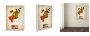 "Trademark Global Naxart 'Boston Watercolor Map' Canvas Art - 18"" x 24"" x 2"""