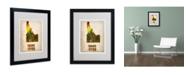 "Trademark Global Naxart 'Idaho Watercolor Map' Matted Framed Art - 20"" x 16"" x 0.5"""