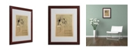 """Trademark Global 'Rena May Et Gerardy' Matted Framed Art - 16"""" x 20"""" x 0.5"""""""
