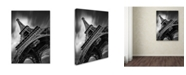 "Trademark Global Moises Levy 'Eiffel Tower Study II' Canvas Art - 47"" x 35"" x 2"""