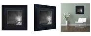"Trademark Global Moises Levy 'Bass Harbor Sky' Matted Framed Art - 11"" x 11"" x 0.5"""
