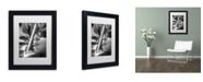 "Trademark Global Moises Levy 'Illumination II' Matted Framed Art - 11"" x 14"" x 0.5"""