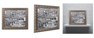 """Trademark Global Moises Levy 'San Gimignano Texture' Ornate Framed Art - 20"""" x 16"""" x 0.5"""""""