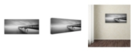 "Trademark Global Moises Levy 'Infinity Panoramic' Canvas Art - 19"" x 8"" x 2"""
